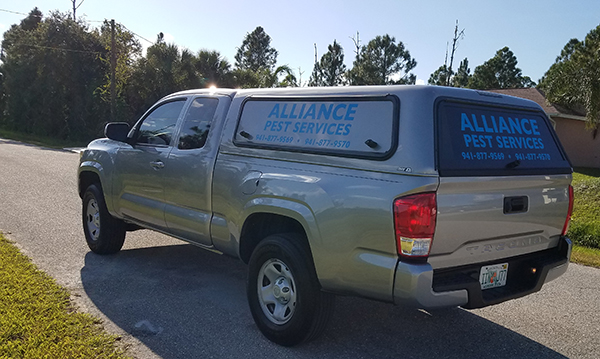 Alliance Pest Services vehicle image